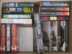 Collection of 4 Fiction Authors