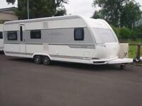 2016 HOBBY 660 VIP,5 BERTH FIXED BED CARAVAN