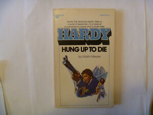 HARDY: HUNG UP TO DIE by Martin Meyers - 1976 Paperback