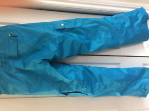Firefly blue ski pants. Ladies size small