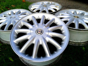 "16"" Alloy rims, 5x100, set of 4, only $130"