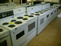 Huge selection of stoves with 90 day warranty. $199 and up.