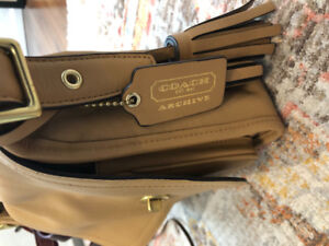 Coach Archive Collection purse Cross Body bag
