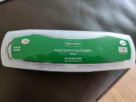 Adult Prescription Swim Goggles -3 .5 Right / -4.5 Left Perfect