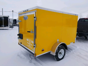 Fall Clearance of 5 x 8 Continental Cargo RS Trailers