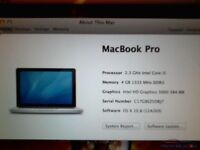 MacBook Pro 13in i5