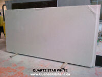 Quartz Counter Top White Star 3cm At QuebecKitchens Inc