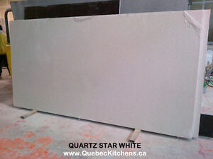 Quartz Counter Top White Star 3cm At QuebecKitchens Montreal