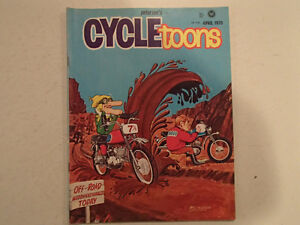 Pedersen's CYCLETOONS Number 14 April 1970. VGC RARE.