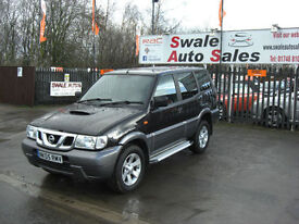 2005 NISSAN TERRANO 2.7L DIESEL 4x4 SEVEN SEATER, IDEAL FOR FAMILY