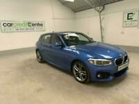 BLUE BMW 1 SERIES 1.5 118I M SPORT 5D 134 BHP **buy now from £77 per week**