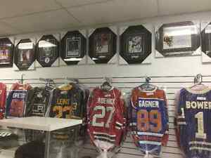 Large Selection Of Signed Memorabilia @ Cards 2 Collectibles Strathcona County Edmonton Area image 3