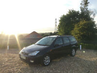 2004/54 Ford Focus 1.8TDCi 115 Ghia 5 Door Estate Black