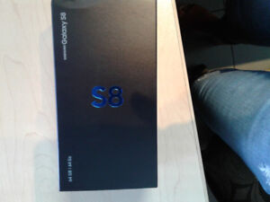 Sumsung Galaxi S8 bran new sealed  in a box unlocked from bell