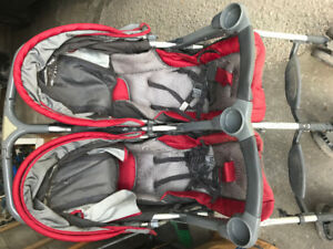 Combi Twin Savvy Double Stroller