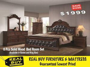 Biggest Sale Ever – 8Pcs Bedroom Set for $1999