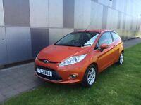 Ford fiesta zetec 1.2 petrol 3 door hatch back