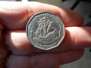 World Coins - East Caribbean $1 Dollar 2002 Coin