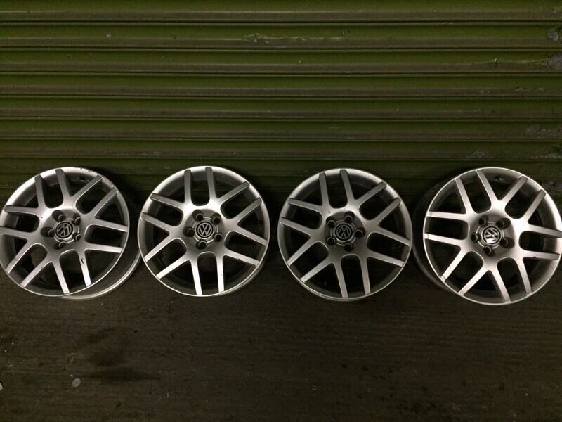 Mk4 golf wheels 5x100