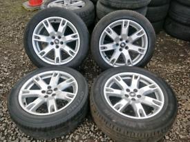 "18"" x4 Range Rover Evoque Genuine Alloy Wheels. FREE PAY UP PLAN"