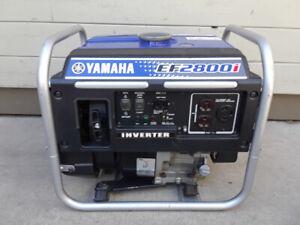 Yamaha 2800i Generator