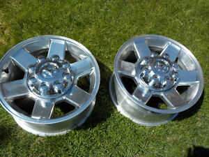 "2013 Dodge Ram 2500/3500 Alum. OEM 17""x 8 bolt rims , no tires"
