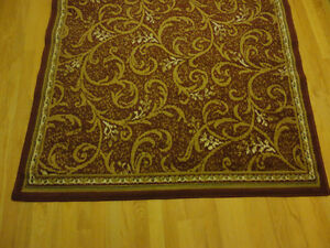 Red carpet area rug decorative accent Like New London Ontario image 6