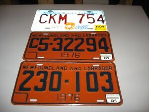 NFLD. collectable plates