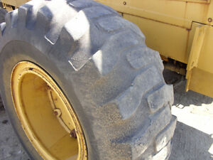 USED GRADER TIRES--4 TITAN 17.5 X 25 and 1  SAMSUNG Steer  14x24