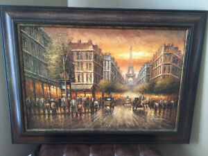 Oil Painting Framed
