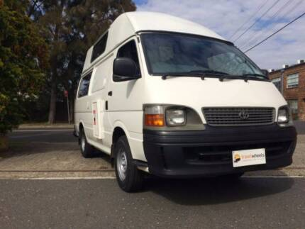 2004 Toyota Hiace 5 Seater Campervan For Sale- Sydney