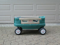 Little Tikes wagon. Ikea seats & Stampede Cabbage Patch doll