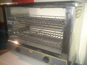 Commercial toaster oven/warmer