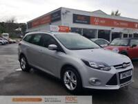 FORD FOCUS ZETEC TDCI Silver Manual Diesel, 2012