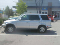 2000 Honda CR-V SUV Well Maintained, Great on Gas!!!