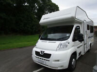 2007 Elddis Sunstyle 140 GT 4 Berth U-Shaped Lounge Motorhome For Sale Ref 11227
