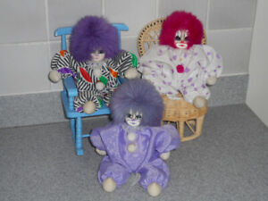 2 - Clown Dolls