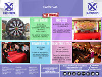 Interactive Gaming, Inflatables, Carnival Etc For Private & Corp