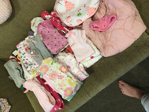 Girls 0-3 month misc lot