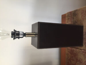 Modern Lamp Base & Small Lamp Shades