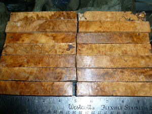 Pear wood and Holly for sale Knife scales,pen blanks,lathe