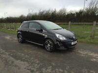 Vauxhall/Opel Corsa 1.4i 2013 Black Edition finance available from £30 per week