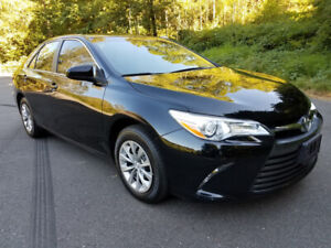 2016 Toyota Black Camry LE