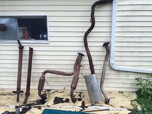 Complete exhaust system in 2002 Chevy halftime extended cab