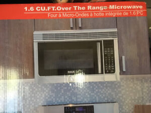 Brand New RCA over the range microwave stainless steel