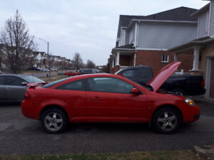 Selling a red female driven car