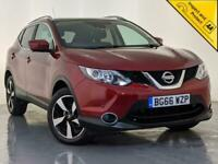2016 66 NISSAN QASHQAI N-CONNECTA DCI 360 CAMERA PAN ROOF 1 OWNER SVC HISTORY