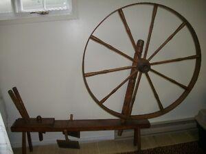Decorative Antique Spinning Wheel St. John's Newfoundland image 1