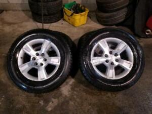 255/65R18 (USED WINTER AND SUMMER TIRES AVAILABLE)