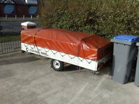 conway campa dl 4 berth trailer tent